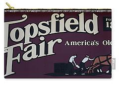 Topsfield Fair 1818 Carry-all Pouch