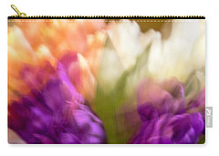 Carry-all Pouch featuring the photograph Topsy Turvy Tulips by Cathy Donohoue