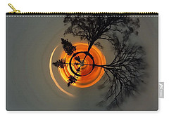 Topsy Turvy World - Sunset Carry-all Pouch