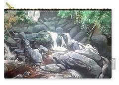Torc Waterfall County Kerry Ireland Carry-all Pouch by Paul Weerasekera