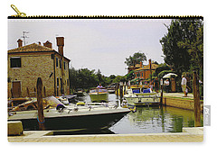 Carry-all Pouch featuring the photograph Torcello Island by Cendrine Marrouat