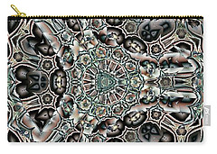 Torn Patterns Carry-all Pouch by Ron Bissett