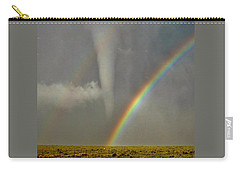 Tornado And The Rainbow II  Carry-all Pouch