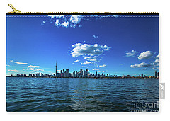 Carry-all Pouch featuring the photograph Toronto 1 by Mariusz Czajkowski