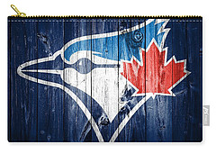 Toronto Blue Jays Barn Door Carry-all Pouch by Dan Sproul