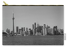 Toronto Cistyscape Bw Carry-all Pouch