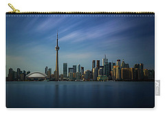 Toronto Cityscape Carry-all Pouch by Ian Good