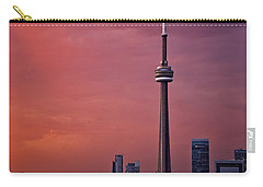 Toronto Sunset Carry-all Pouch by Ian Good