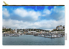 Carry-all Pouch featuring the photograph Torquay Devon by Scott Carruthers