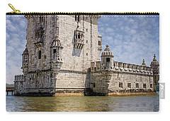 Torre De Belem Lisbon Portugal  Carry-all Pouch
