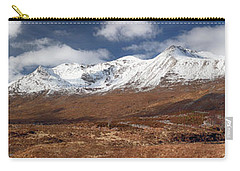 Carry-all Pouch featuring the photograph Torridon Panorama by Grant Glendinning