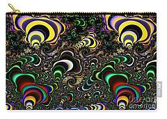 Torus Spirals Carry-all Pouch by Ron Bissett