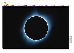 Carry-all Pouch featuring the photograph Totality by Rikk Flohr