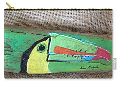 Toucan Carry-all Pouch by Ann Michelle Swadener