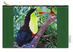 Toucan Portrait 2 Carry-all Pouch