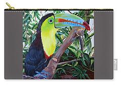 Toucan Portrait Carry-all Pouch