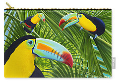 Toucan Threesome Carry-all Pouch