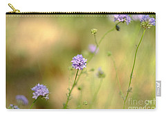 Touch Of Lavender Light Carry-all Pouch