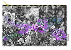 Touch Of Phlox Carry-all Pouch