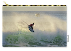 Carry-all Pouch featuring the photograph Touch The Sun by Thierry Bouriat