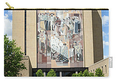 Touchdown Jesus Mural Carry-all Pouch