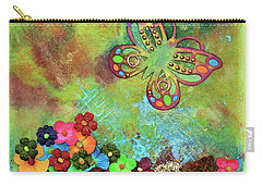 Touched By Enchantment Carry-all Pouch by Donna Blackhall