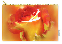 Carry-all Pouch featuring the photograph Touched By The Sun by Gabriella Weninger - David