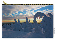 Touched From The Winter Sun Carry-all Pouch by Andreas Levi