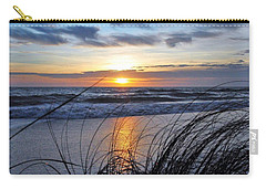 Touching The Sunset Carry-all Pouch by Kicking Bear Productions