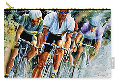 Carry-all Pouch featuring the painting Tour De Force by Hanne Lore Koehler