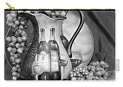 Carry-all Pouch featuring the photograph Tour Of Italy In Black And White by Sherry Hallemeier