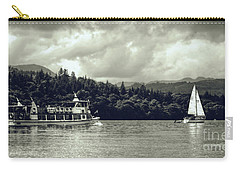 Touring The Lakes In Sepia Carry-all Pouch