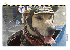 Tourist Dog 2 Square Carry-all Pouch