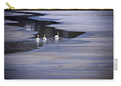 Tourist Swans Carry-all Pouch