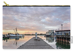 Carry-all Pouch featuring the photograph Toward The Dusk by Greg Nyquist