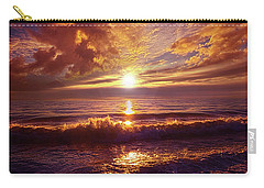 Carry-all Pouch featuring the photograph Toward The Far Reaches by Phil Koch