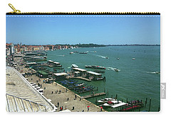Carry-all Pouch featuring the photograph Towards Giardino by Anne Kotan