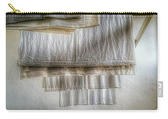 Towels And Sheets Carry-all Pouch by Isabella F Abbie Shores FRSA