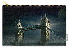 Tower Bridge In Moonlight Carry-all Pouch