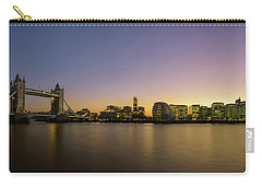 Tower Bridge Sunset Panoramic Carry-all Pouch