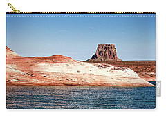 Carry-all Pouch featuring the photograph Tower Butte by Christopher Meade