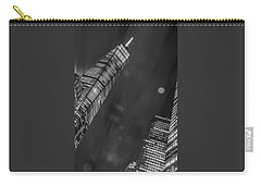 Carry-all Pouch featuring the photograph Tower Nights by Theodore Jones