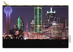 Towering Over Dallas Carry-all Pouch by Frozen in Time Fine Art Photography