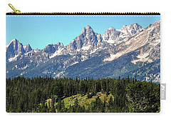 Towering Teton Range  Carry-all Pouch