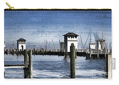 Towers And Masts Carry-all Pouch by Roberta Byram
