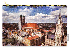 Town Hall. Munich Carry-all Pouch by Sergey Simanovsky