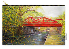 Towpath In New Hope Carry-all Pouch
