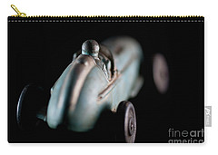 Carry-all Pouch featuring the photograph Toy Race Car by Wilma Birdwell