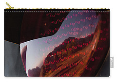 Carry-all Pouch featuring the photograph Track Reflections by Colleen Coccia