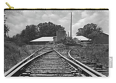 Carry-all Pouch featuring the photograph Tracks by Mike McGlothlen